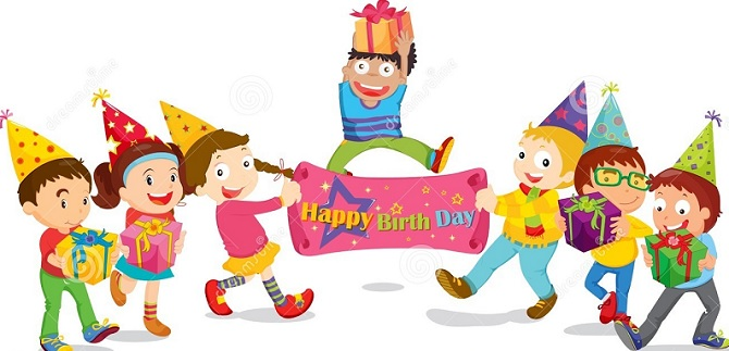Happy birthday wishes for kids