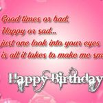 Happy Birthday Sms for Wife