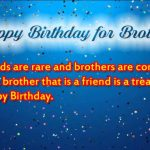 Inspirational Birthday Messages for a Brother